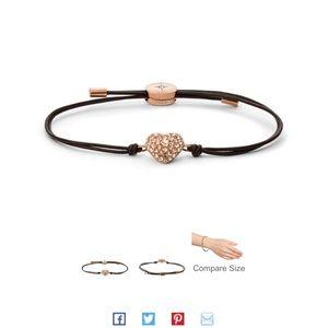 Fossil Wrist Wrap Bracelet